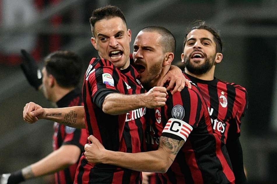 Ac Milan 1 Sampdoria 0 Bonaventura 10 Unbeaten