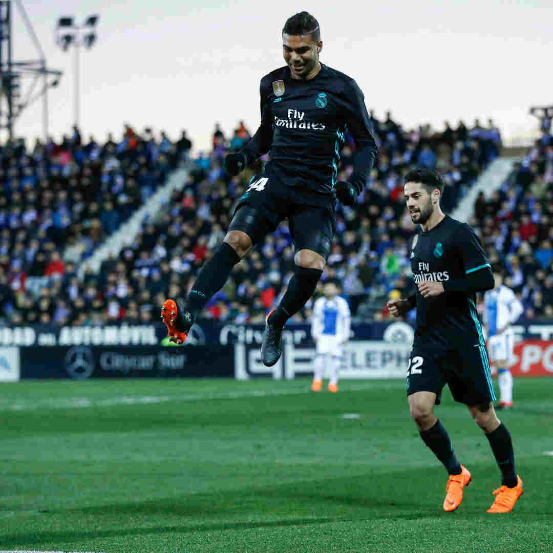 La Liga Real Madrid Defeat Leganes With Ease