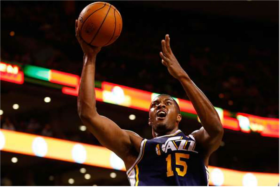 Utah Jazz star Derrick Favors