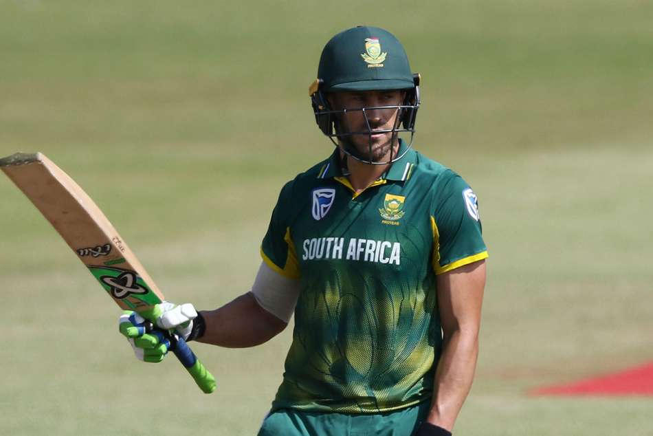South Africa Faf Du Plessis Out India Odi T