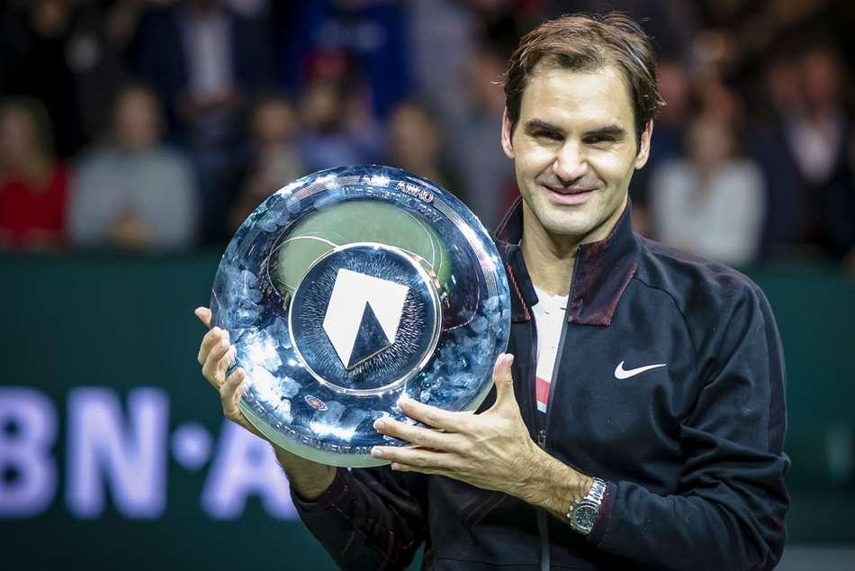 Roger Federer World Number One Rotterdam Open Champion