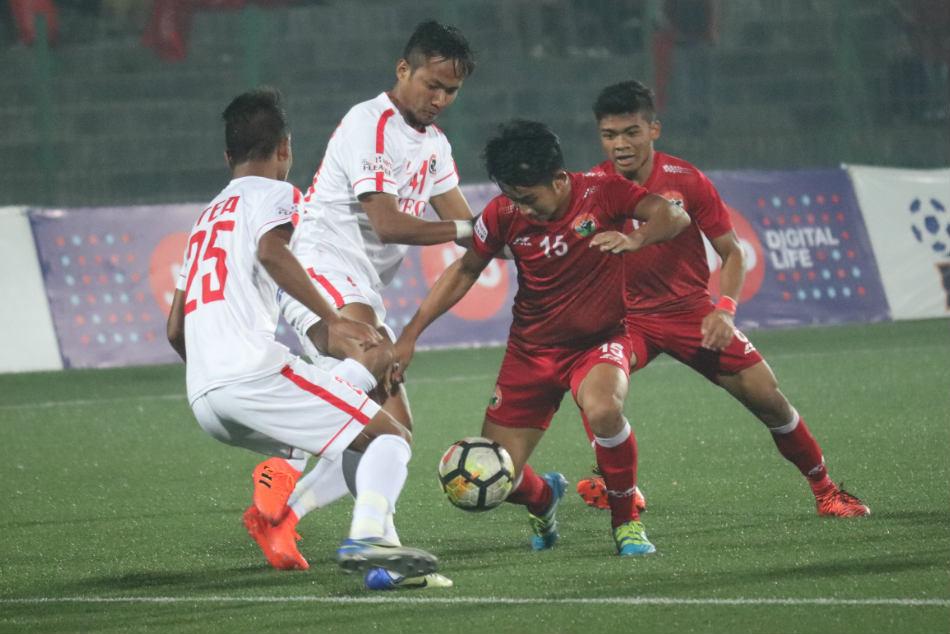 I League Lajong Completes Double Over Aizawl