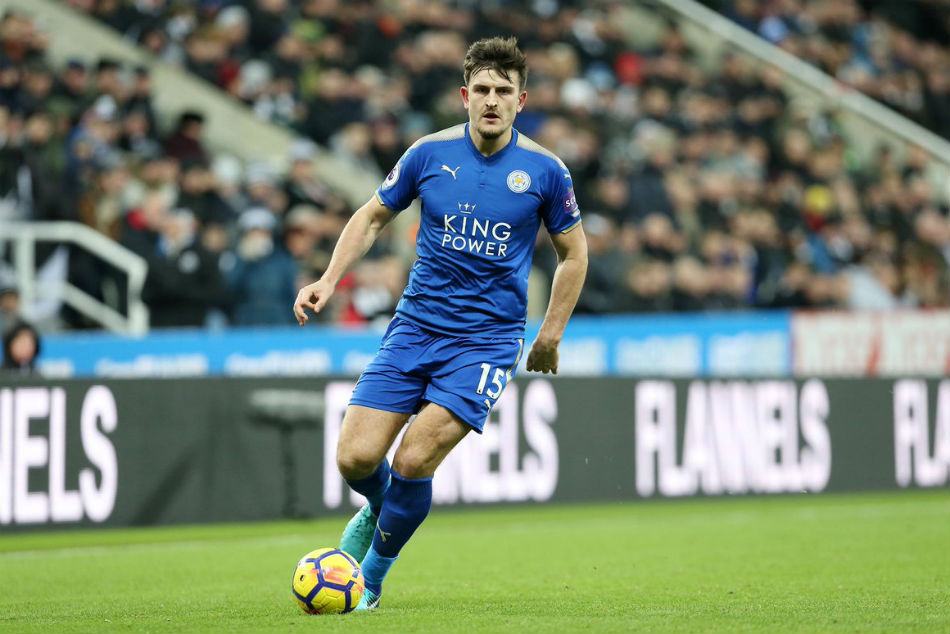 Manchester Clubs Battle 50m England Defender Harry Maguire