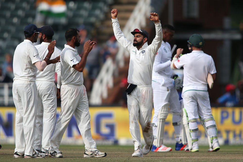 India tour of South Africa: January 5 to February 24