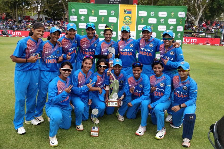 India Women Beat South Africa Women 54 Runs Clinch T20 Series 3