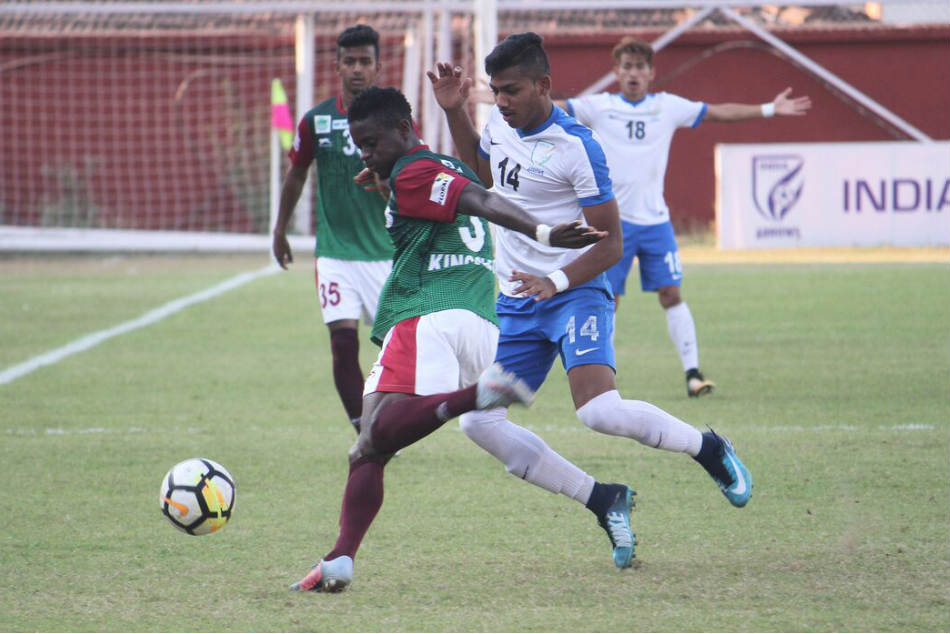 I League Mohun Bagan Outplay Indian Arrows Stay Alive Title