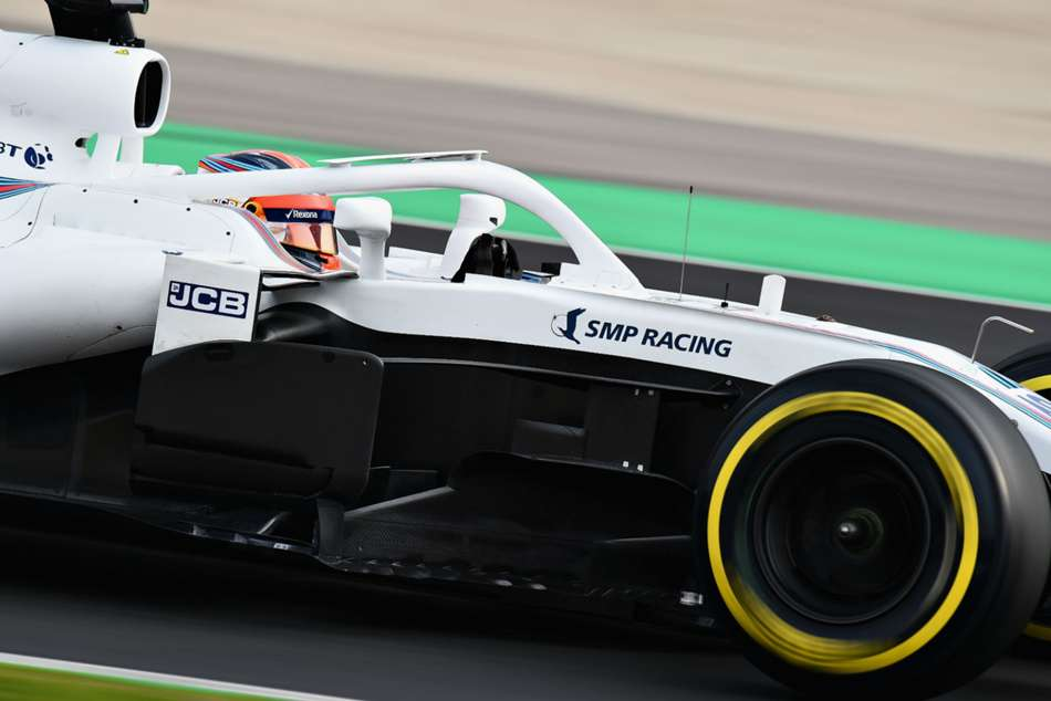 Robert Kubica Williams Faster Sergey Sirotkin Barcelona F1 Test