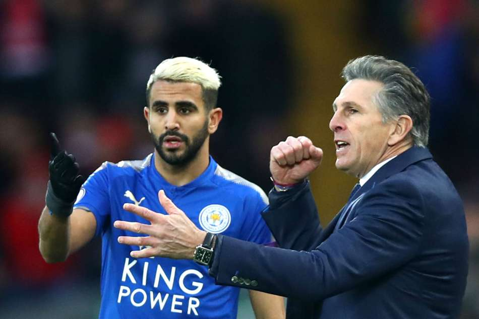 Disgruntled Riyad Mahrez Not Returning Manchester City Clash Confirms Claude Puel
