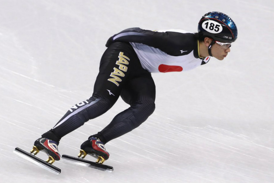 Kei Saito has tested positive for a banned substance at the Pyeongchang Olympics. Credit: Twitter