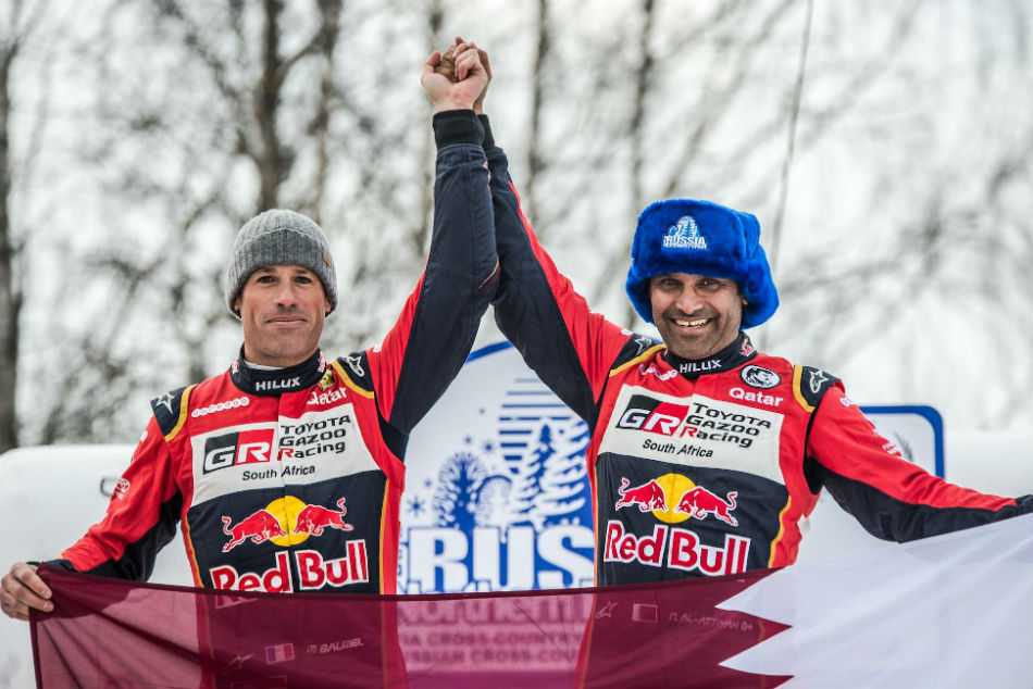 Al Attiyah Begins Title Defence With Russia Win