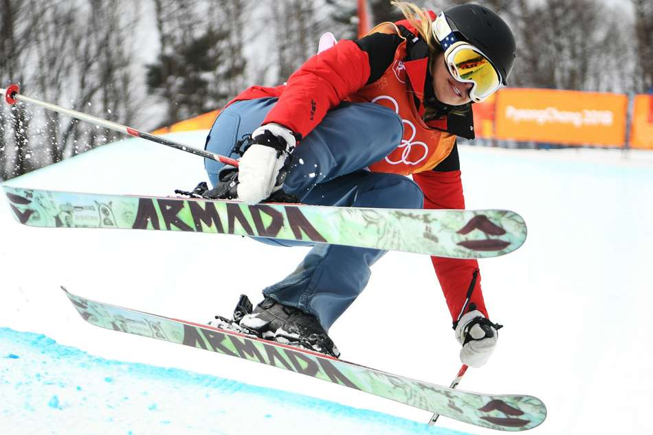 Winter Olympics 2018 Swaney Competes In Halfpipe With No Tricks