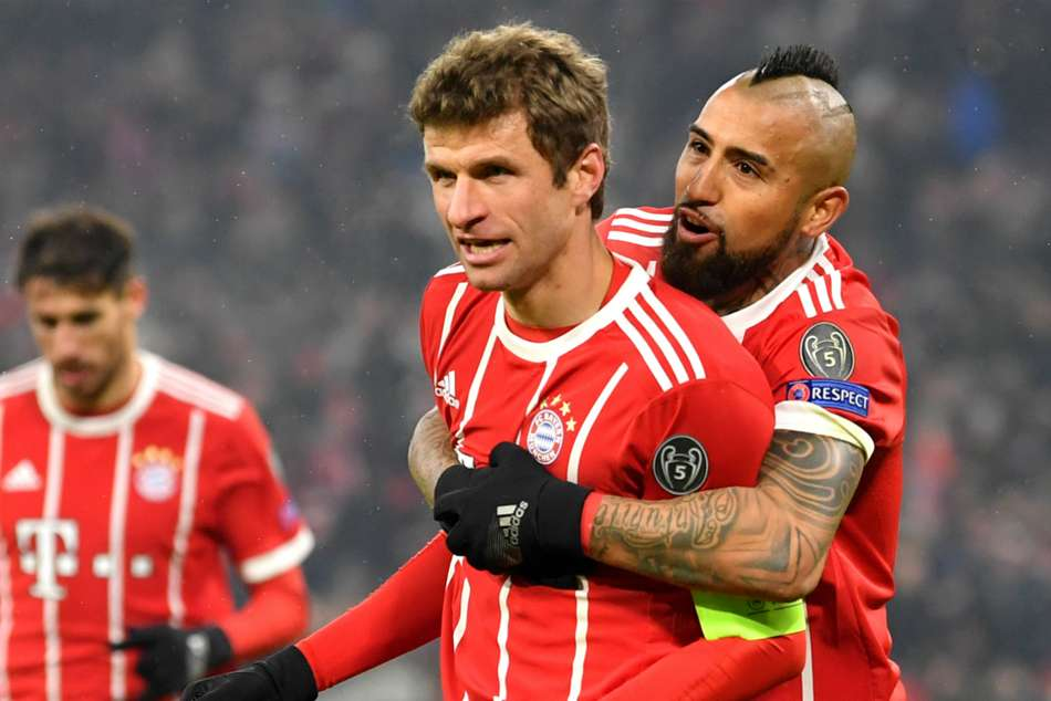Muller Robben Unhappy Over First Half Despite Huge Win