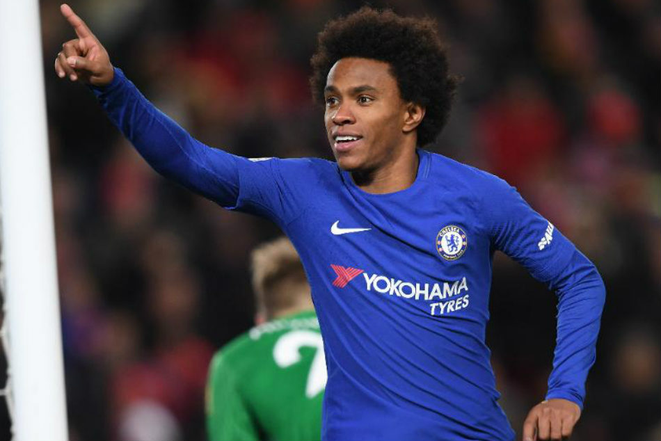 Willian Eager Beat Manchester United Friend Mourinho