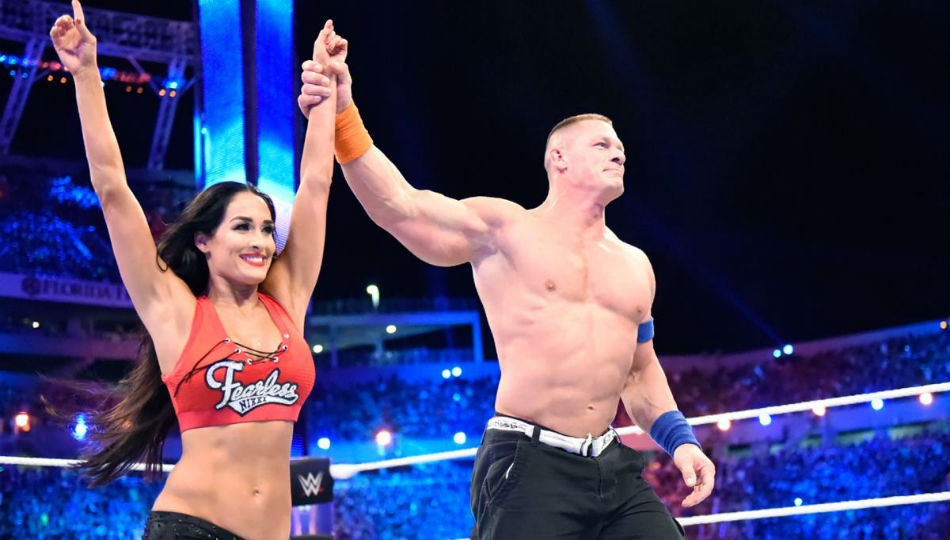 Image result for John Cena, Nikki Bella