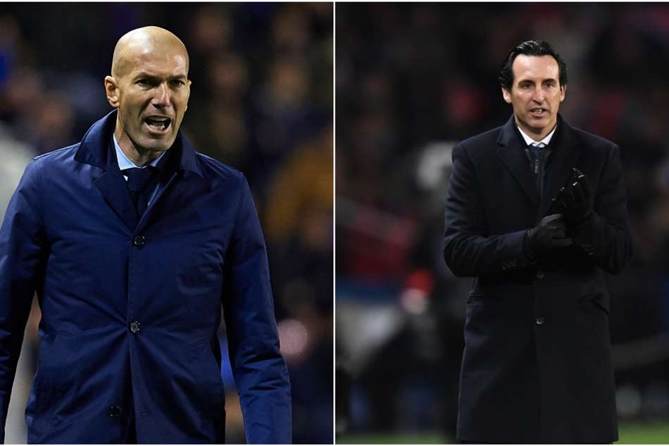 Zidane vs Emery in Champions League
