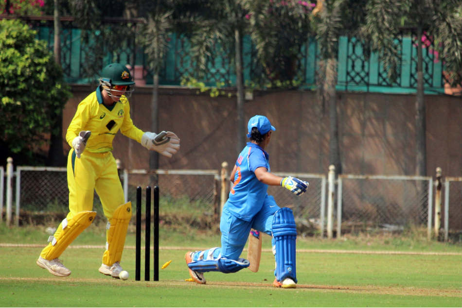 India Vs Australia Women Visitors Clinch 2nd Warm Up With Ease