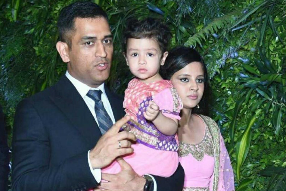 MS Dhoni spending quality time with wife Sakshi, daughter Ziva and his pets - Watch video