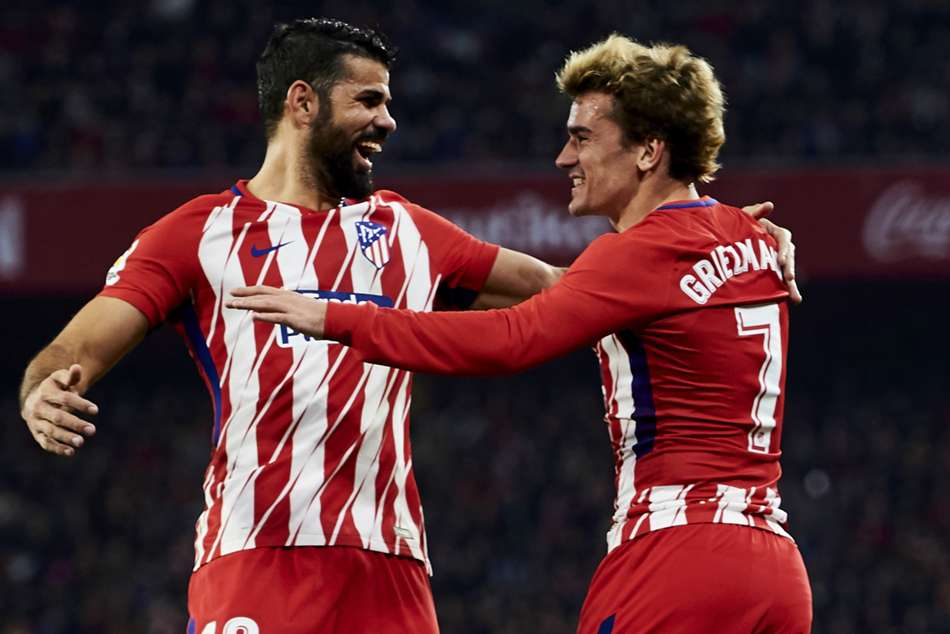 Antoine Griezmann Diego Costa Expects Atletico Madrid Stay Barcelona Manchester United