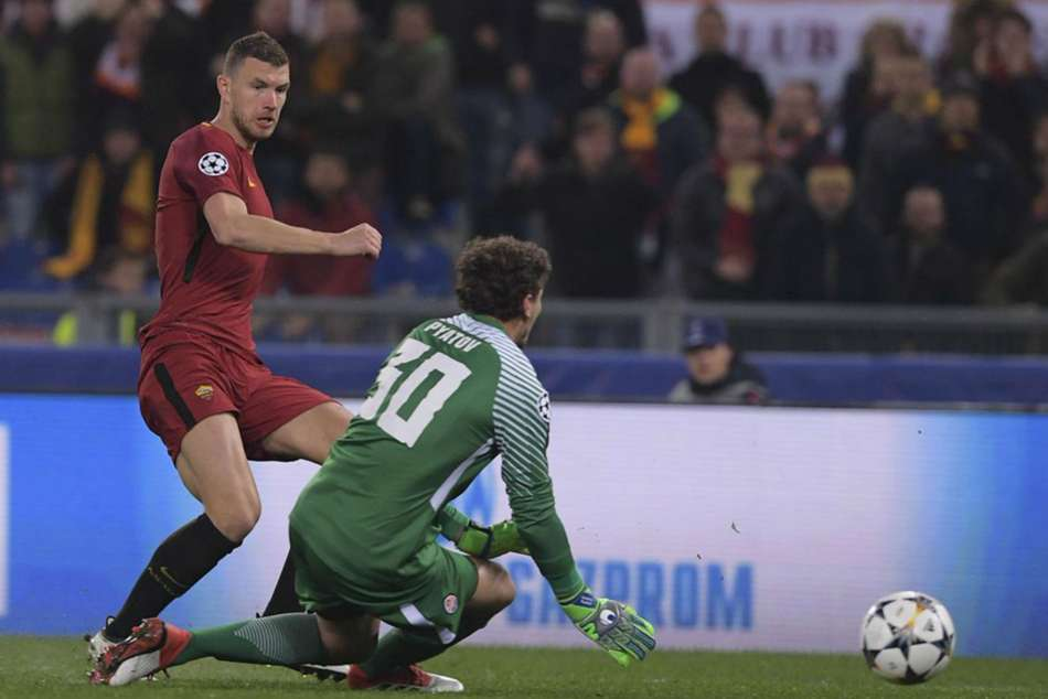 Roma 1 Shakhtar Donetsk 0 2 2 Agg Dzeko Edges Italians Through On Away Goals