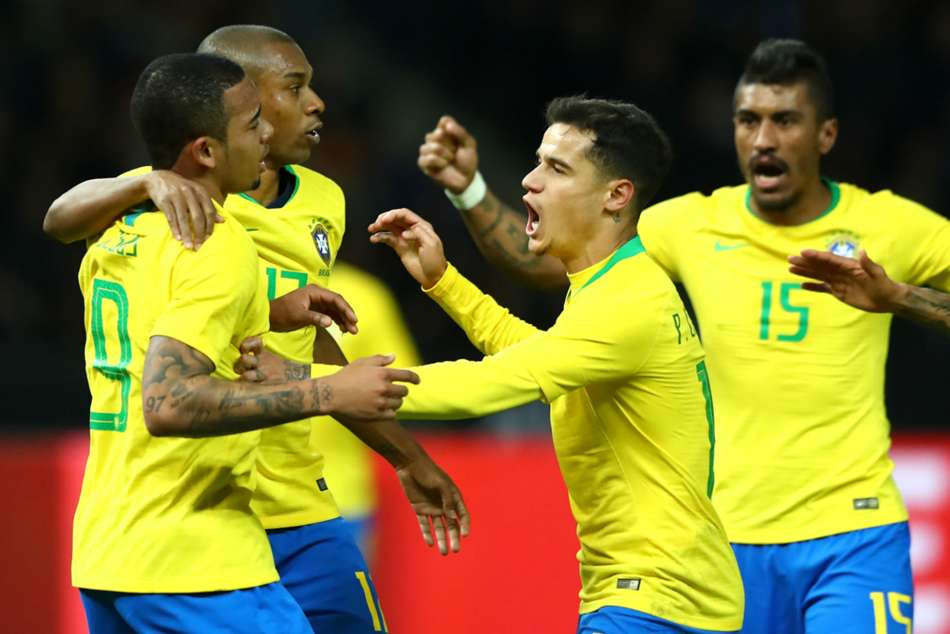 Jesus Gives Brazil Win Over Germany Spain Hit Argentina A S