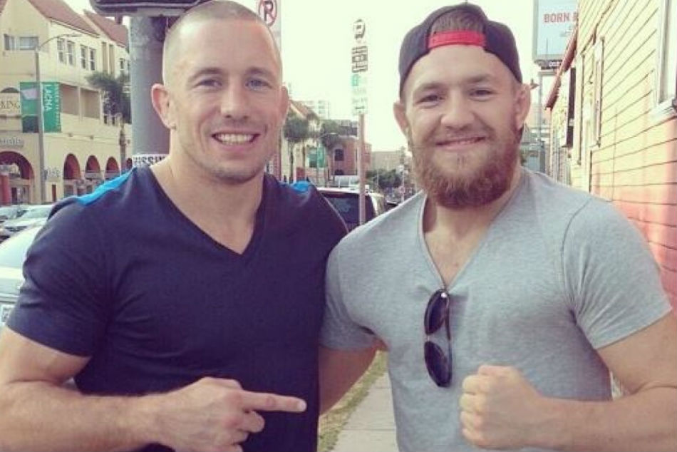 GSP (left) and Conor McGregor (Image Courtesy: Screenshot)