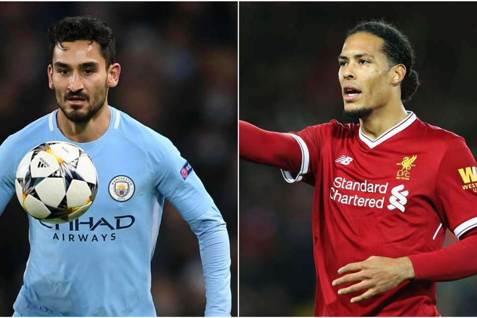 Van Dijk Gundogan Manchester City Liverpool Champions League