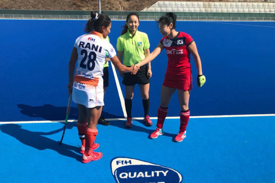 Women S Hockey India Play 1 1 Draw With South Korea Win Series