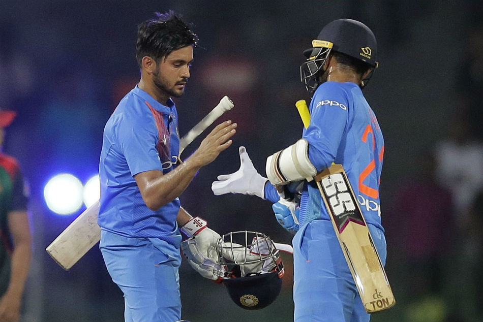 Nidahas Trophy 2018: 4th T20I: Manish, Shardul guide India to a comprehensive win over Sri Lanka