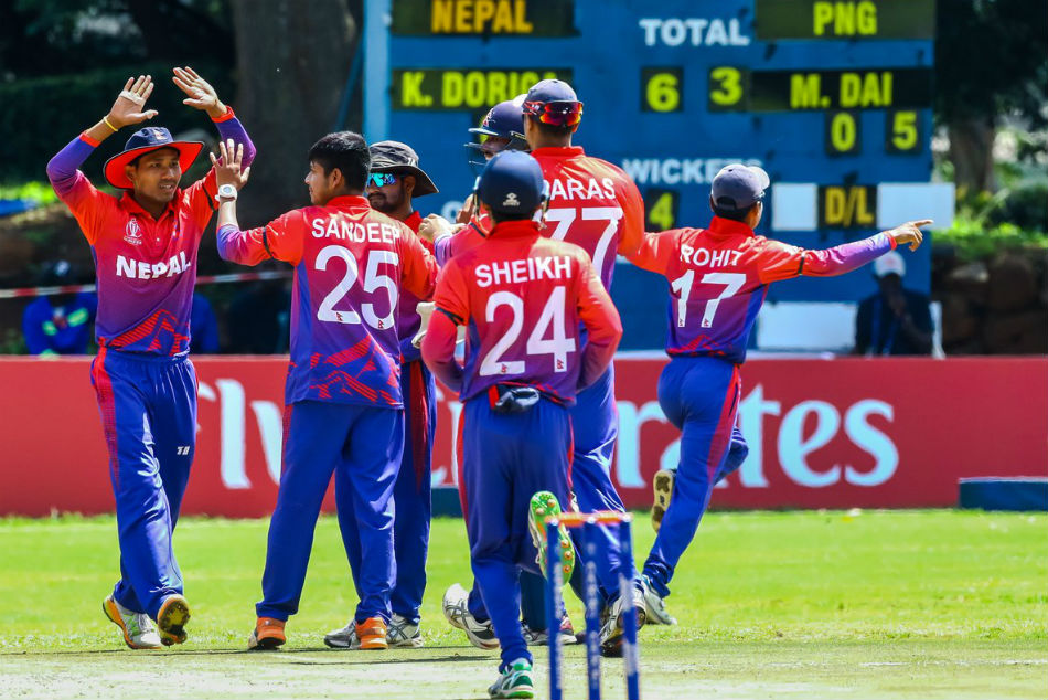 Nepal achieve ODI status with emphatic six-wicket win over Papua New Guinea