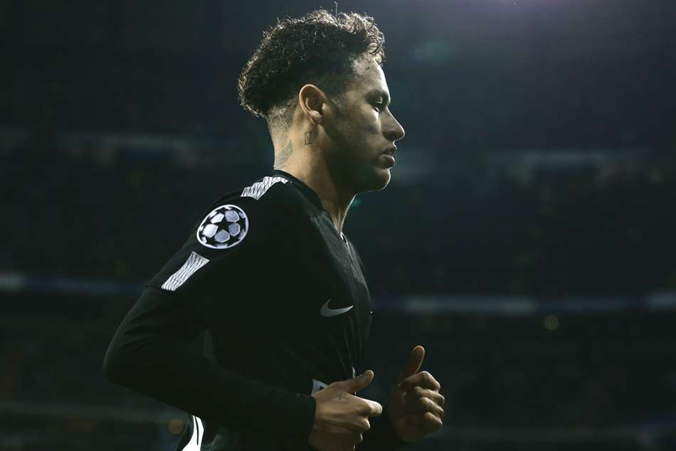 PSG winger Neymar moved from Barcelona in the summer