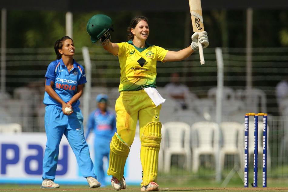 st Odi Nicole Bolton Spinners Set Up Australia Women S Crushing Win Against India