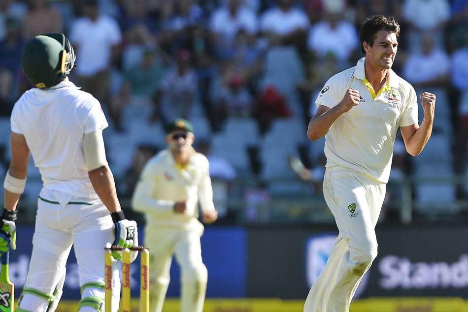 South Africa Australia Third Test Pat Cummins Dean Elgar