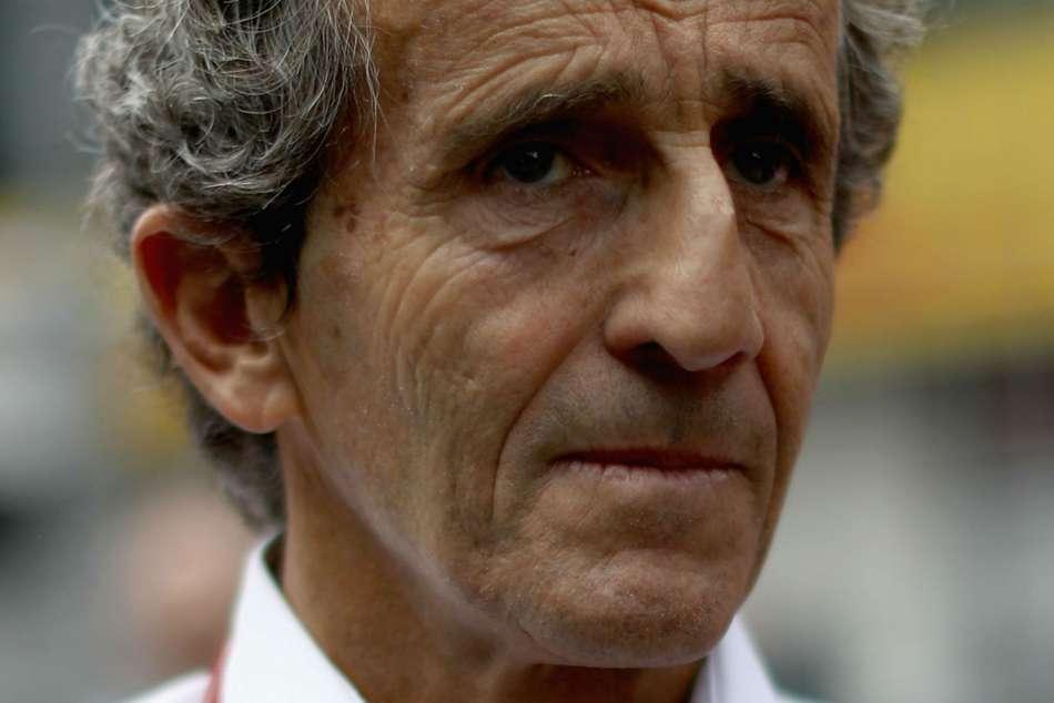 Safety Measures F1 Legend Alain Prost Halo