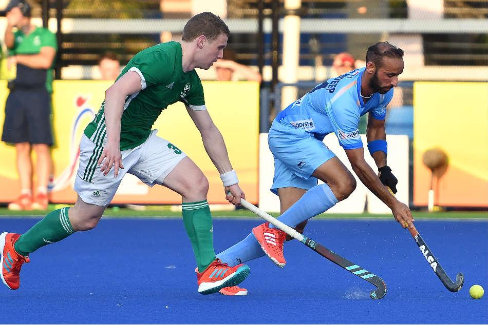 Azlan Shah Cup Hockey Ireland Stun India With 3 2 Win