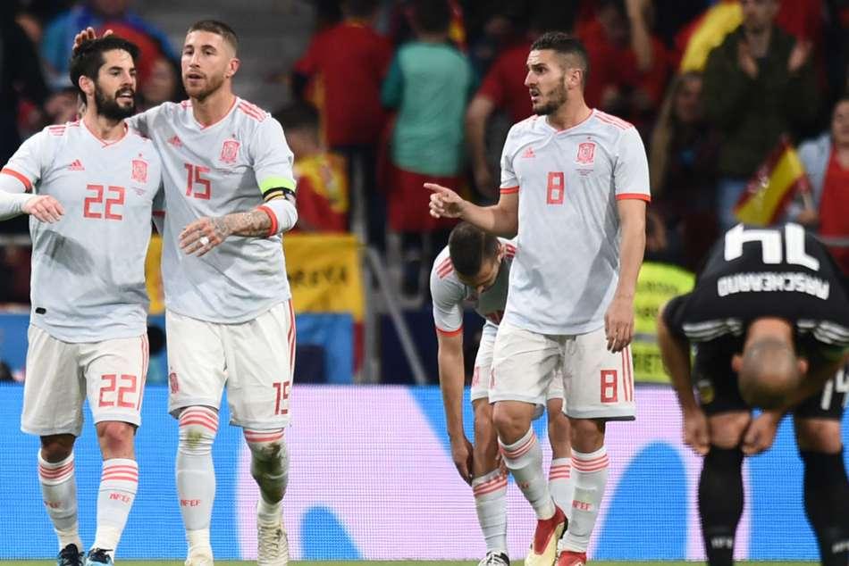 Sergio Ramos World Cup Spain