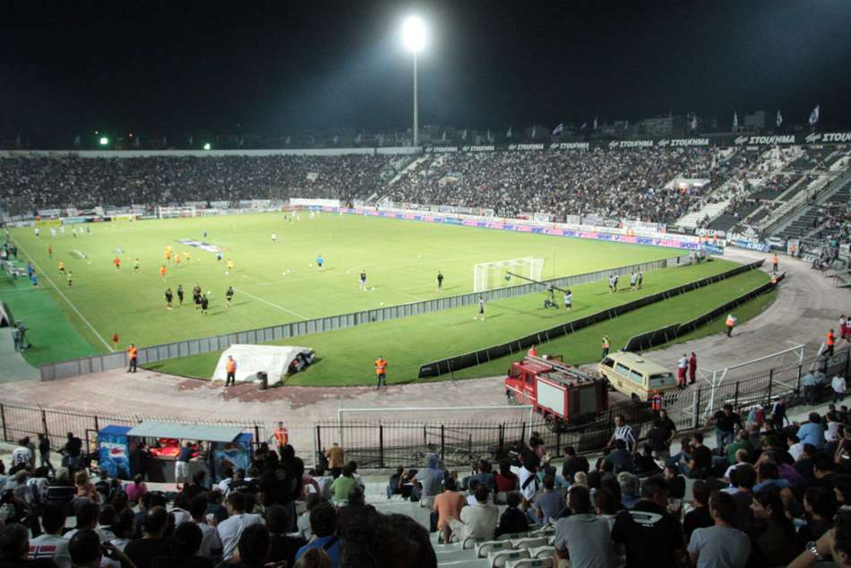 Paok Aek Athens Postponed Owner Storms Pitch