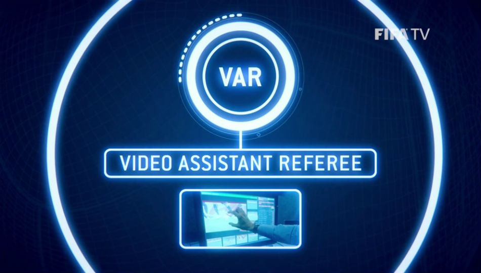 Four Var Officials Giant Screen Replays At Every World Cup Match Fifa