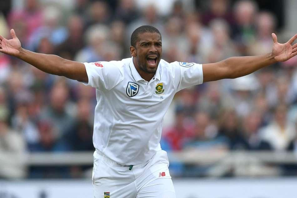 Australia South Africa Fourth Test Vernon Philander Temba Bavuma