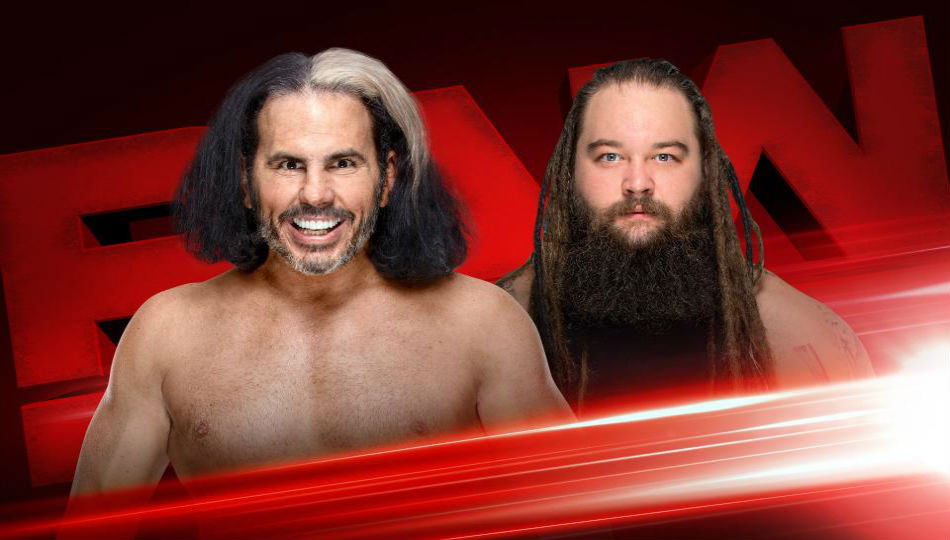 Wwe Monday Night Raw Preview Schedule March 19