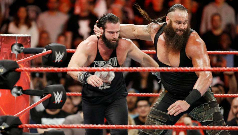 Braun Strowman Fight Wwe Raw Tag Titles At Wrestlemania