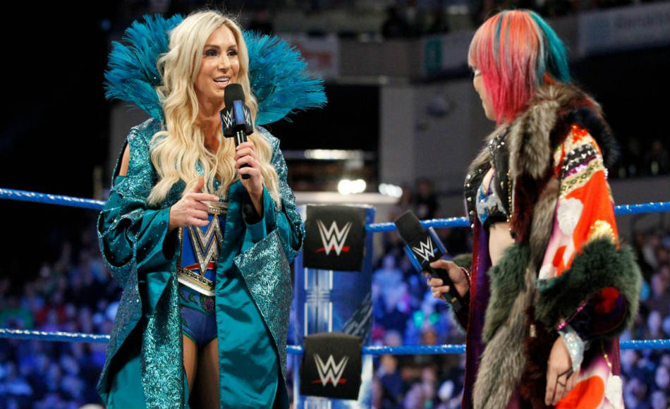 Charlotte (left) & Asuka (image courtesy WWE.com)