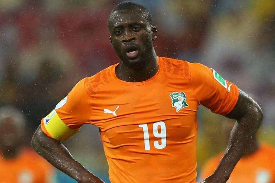Yaya Toure Ivory Coast Manchester City International Friendlies