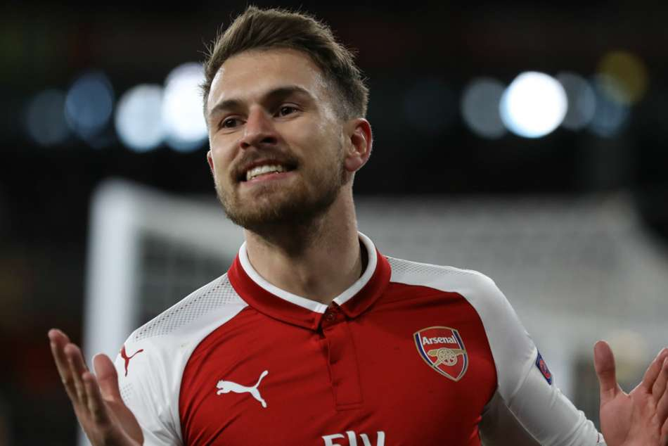 Aaron Ramsey snatched draw for Arsenal