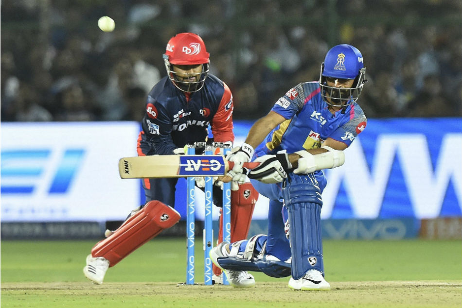 IPL 2018: Rajasthan Royals beat Delhi Daredevils by 10 runs via DLS Method, register first win at home