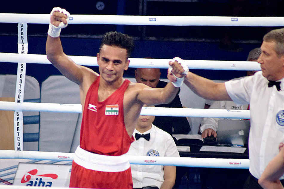 Cwg 2018 Five Indian Boxers Progress To Final