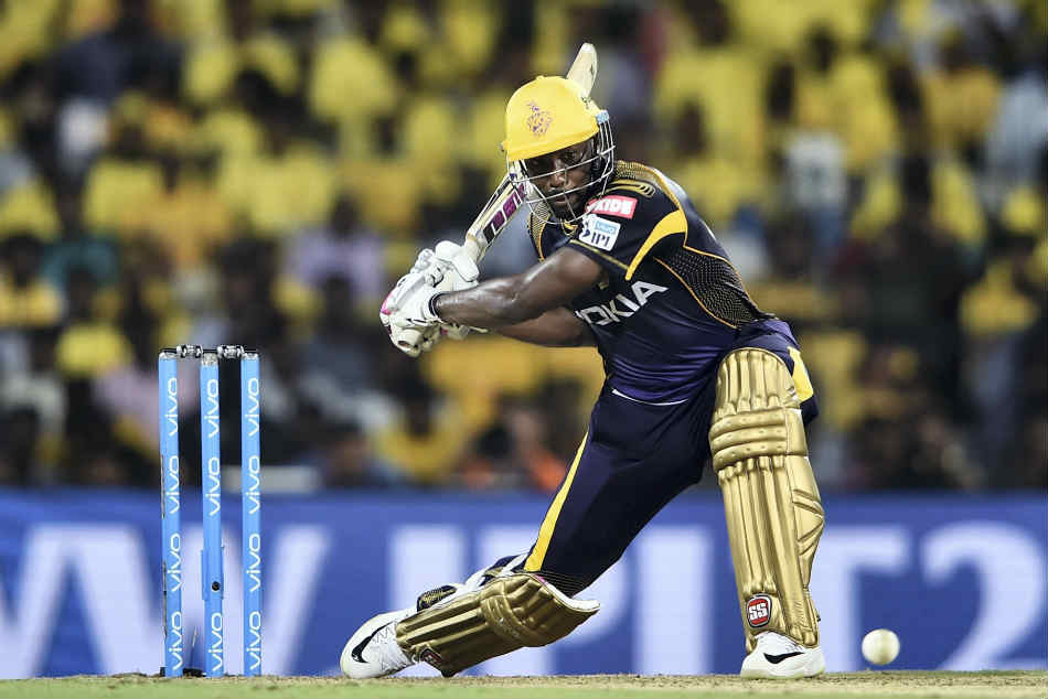 Andre Russel made a sensational 88 off 36 balls for Kolkata Knight Riders