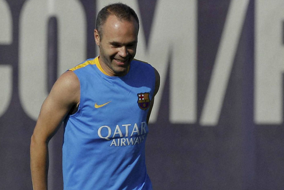 Andres Iniesta made his debut at Barcelona in 2002