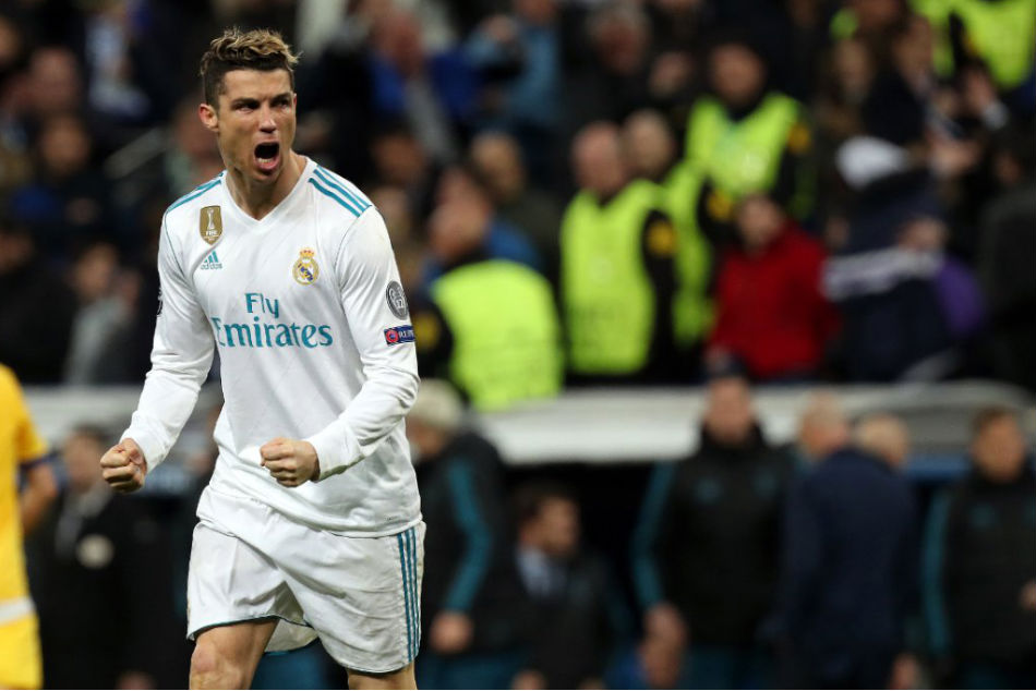 Cristiano Ronaldo of Real Madrid during the Champions League quarterfinal  second leg against Juventus at the 46f795b96