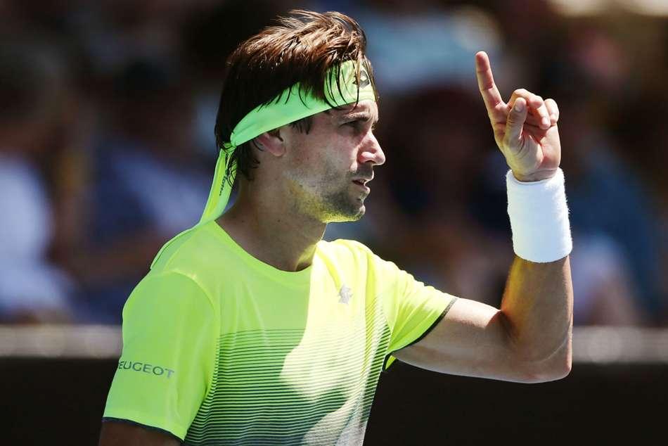 Davis Cup David Ferrer Sends Spain Into Semi Finals