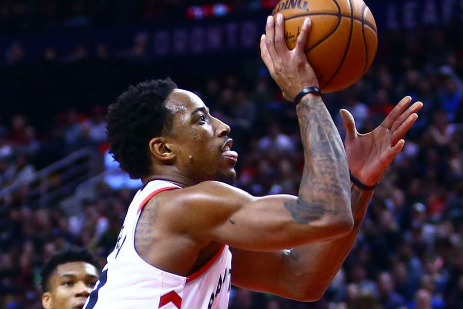 DeMar DeRozan of Toronto Raptors